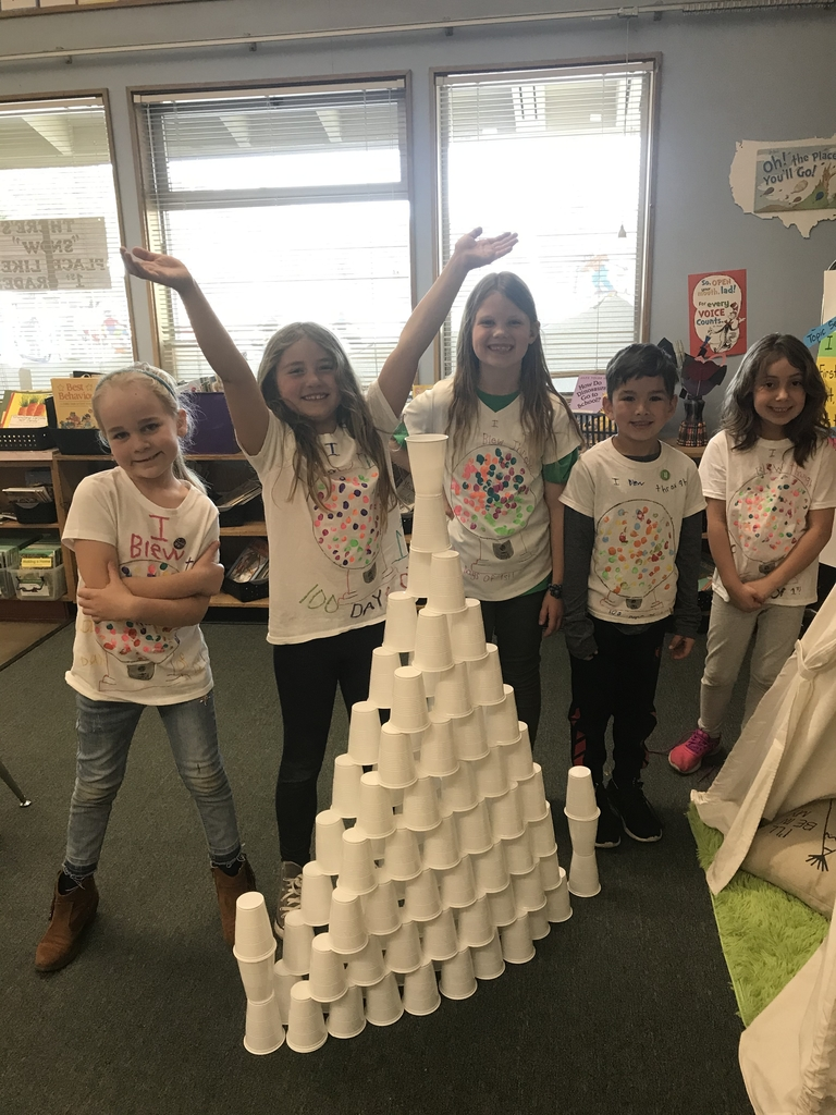 100 cup pyramid!